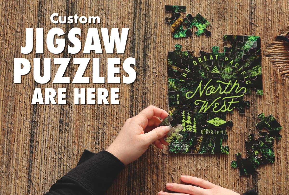 Custom Jigsaw Puzzles Are Here
