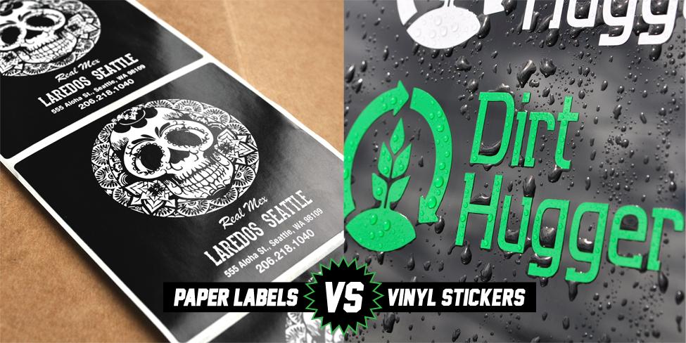 Paper vs Vinyl